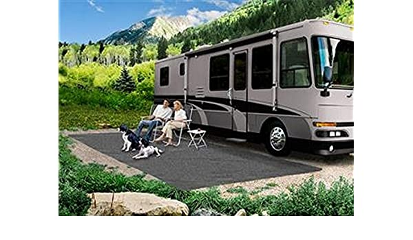 Amazon Com Rv Trailer Presto Fit 6 X15 Patio Rug Stone Gray