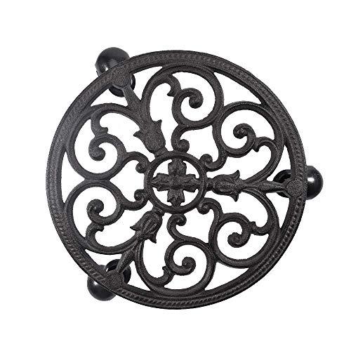 cast iron flower pot holder - 6