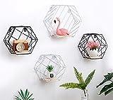 Miss.AJ Wire Grid Panel Wall Hanging Mesh Basket Shop Display Decoration Wall Mounted Storage Organizer Grid