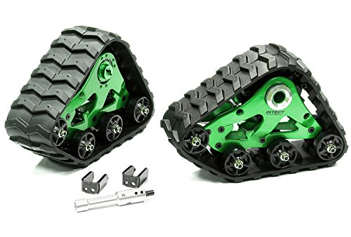 Integy RC Model Hop-ups T8633GREEN Rear Snowmobile & Sandmobile Conversion for Traxxas 1/10 Stampede 4X4, Slash 4X4