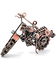 Creative Hand Soldering Wrought Iron Motorcycle Model Metal Moto Collection Home Desk Decor Ornaments Model 2