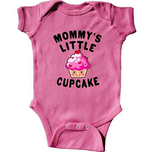 (inktastic - Mommys Little Cupcake Infant Creeper 6 Months Raspberry 3152f)