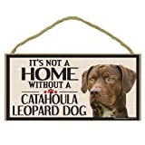 Imagine This Wood Sign for Catahoula Leopard Dog