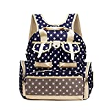 Best Baby Lovess Changing Bags - Multifunction Polka Dots Baby Boom Backpack Diaper Bag Review