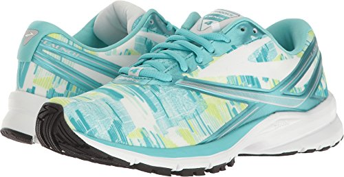 Brooks Womens Launch 4 Kasbah Blue Radiance / Weiß