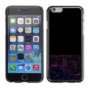 SKCASE Center / Funda Carcasa - Neon Paisaje nocturno;;;;;;;; - iPhone 6