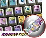 4Keyboard Studio ONE Keyboard Stickers for Laptop, Notebook and Desktop