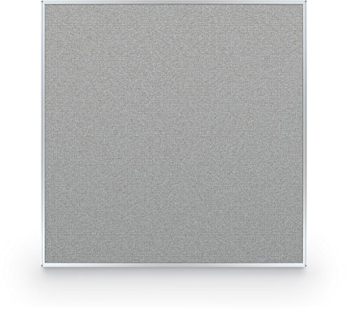Best-Rite 60 x 60 Inch Standard Modular Divider Panel, Gray Fabric Panel, (66217-88) by Best-Rite