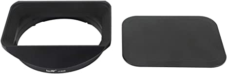 Haoge LH-S36B Bayonet Square Metal Lens Hood Shade for Sony FE 35mm F1.8 SEL35F18F E-Mount Lens