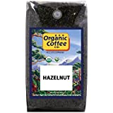 The Organic Coffee Co., Hazelnut Crème- Whole Bean, 2-Pound (32 oz.), Flavored, USDA Organic