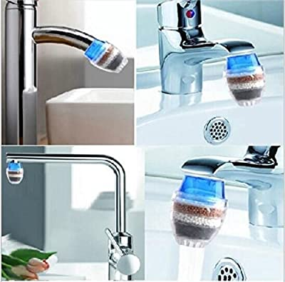 Drhob 1Pc Household Home Coconut Carbon Cartridge Faucet Tap Water Clean Purifier Filter?Multicolor random?