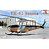 Amodel 72366 Cessna YH-41 Seneca helicopter Plastic model kit 1//72