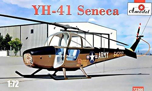 Amodel 72366-1/72 Helicopter Cessna YH-41 Seneca, Scale Plastic Model kit