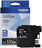 Office Products : Brother Genuine LC103BK High Yield XL Black Ink Cartridge