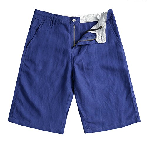 CTOOO Herren Sommer Leinen Shorts Baumwolle Leinen Casual Hosen Kurze   Amazon.de  Bekleidung f53cf1842b
