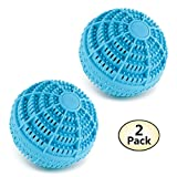 Green Clean Eco Laundry Washer Balls -Environmentally Friendly Detergent Alternative, 2 Pack