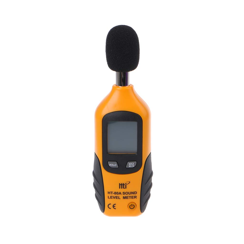 ZHONGJI LCD Digital Display Noise Tester Sound Pressure Level Meter Decibel Noise Measurement by ZHONGJI