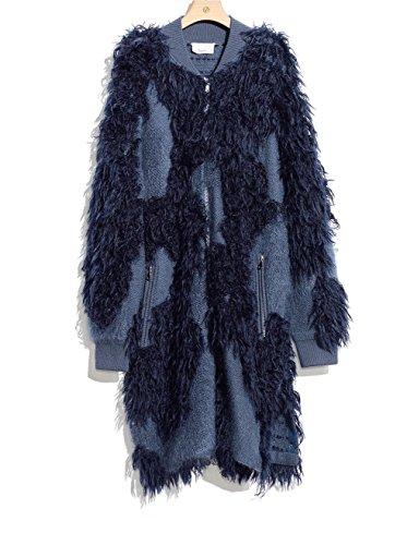 3.1 Phillip Lim Saphire Wool Mohair Sweater Coat - 3.1 Phillip Lim Sweater