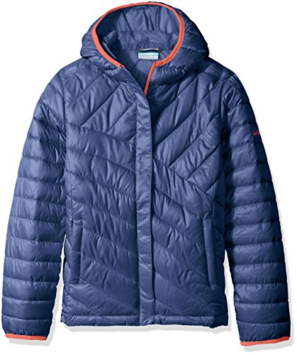 Columbia Big Girls' Powder Lite Puffer Jacket, Bluebell, Medium by Columbia