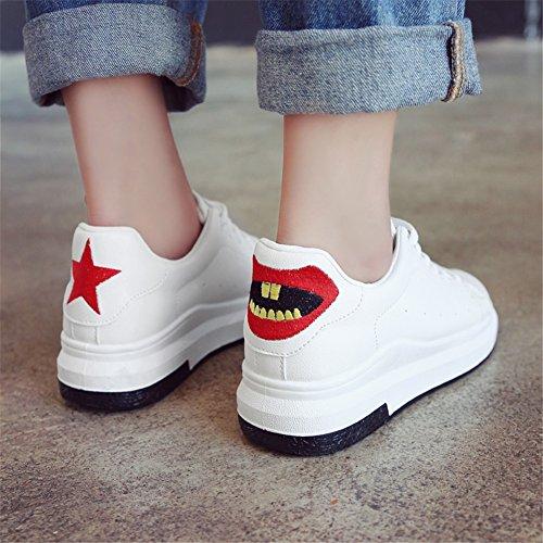 Zapatos Zapatos para de Un Correr Comfort Caminar de Citas Zapatos Mujer Otoño Compras Deporte Soles Amantes PU de Zapatillas para Primavera Deportivos Ligeros IR w7g4PWqnZ