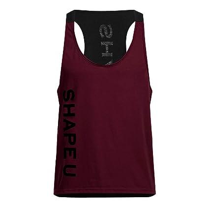 Amazon.com: YKARITIANNA Mens Sleeveless Tank Top Tee Shirt ...