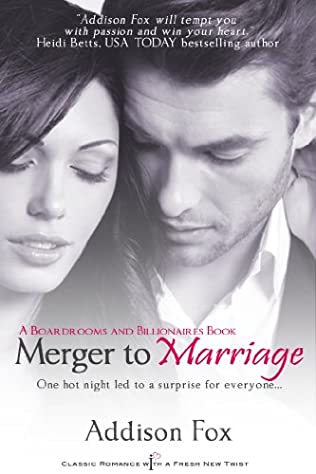 book cover of Merger to Marriage