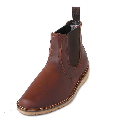 Red Wing Shoes Botines Chelsea de Piel Hombre: Amazon.es: Zapatos y complementos