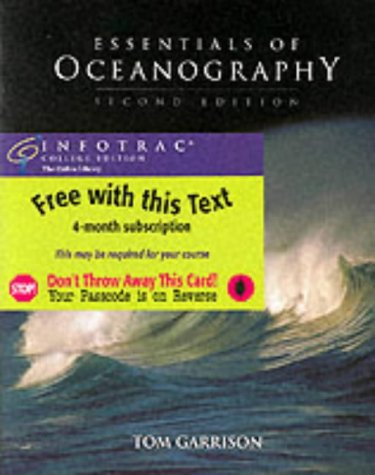 Essentials of Oceanography, Media Edition (with Earth Systems Today CD-ROM and InfoTrac)
