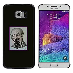 All Phone Most Case / Oferta Especial Duro Teléfono Inteligente PC Cáscara Funda Cubierta de proteccion Caso / Hard Case Samsung Galaxy S6 EDGE // Mad Scream