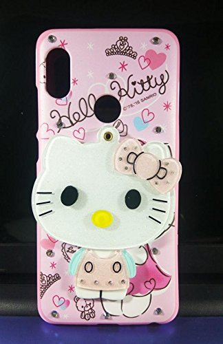size 40 9ffc3 6480c Aarnik 3D Cute Cartoon Mirror Soft Kitty Silicone Back: Amazon.in ...