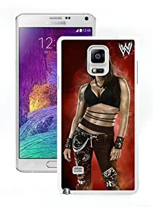 Hot Sale Samsung Galaxy Note 4 Case ,Beautiful Unique Designed Case With Wwe Superstars Collection Wwe 2k15 Lita White Samsung Galaxy Note 4 Cover