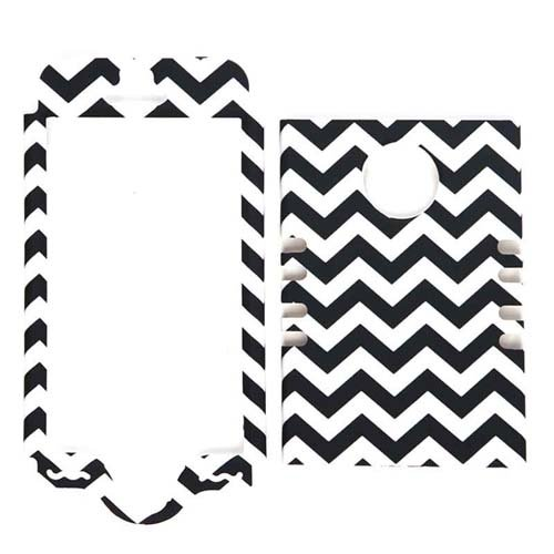 new-3-piece-black-and-white-chevron-stripes-impact-hybrid-combo-hard-case-cover-mint-blue-soft-skin-