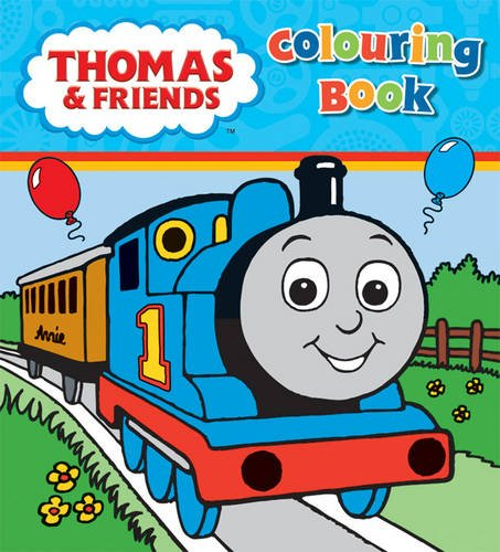 Thomas & Friends Colouring Book: Amazon.co.uk: 9781405258050: Books