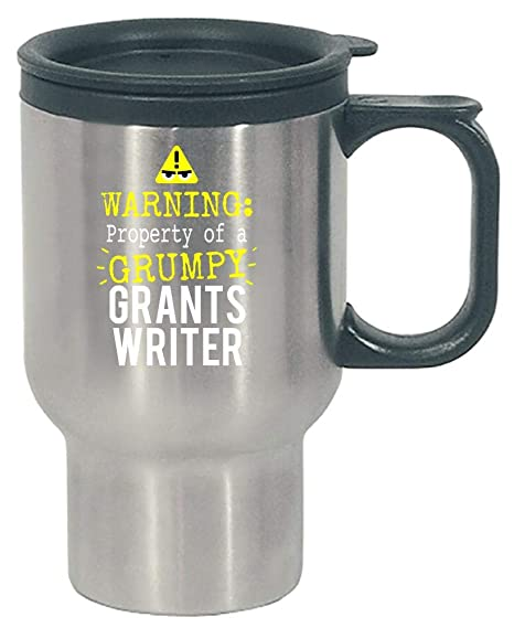 Amazon Com Warning Grumpy Grants Writer Stainless Steel