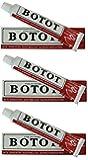 Botot Natural European Toothpaste 75 ml, 3 Boxes by Kalastyle