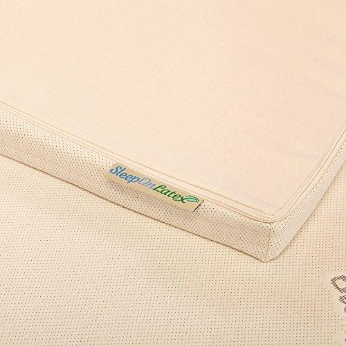 Sleep On Latex Organic Cotton Mattress Topper Cover - 3