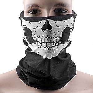 Multifunktionstuch | Sturmmaske | Bandana | Schlauchtuch | Halstuch < Skull...