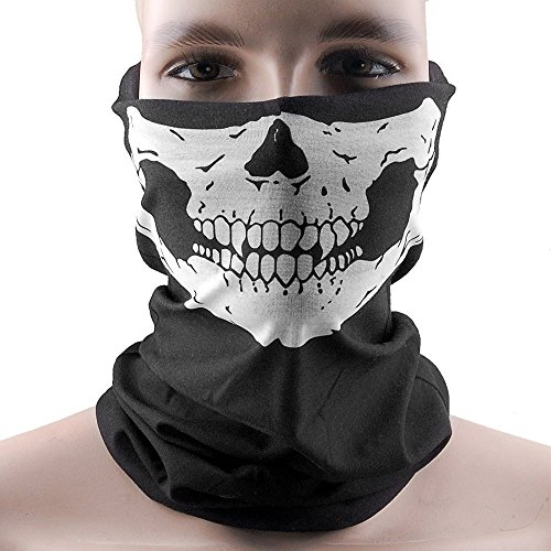 THG Skeleton Schädel Bandana Neck Warmer/Face Mask