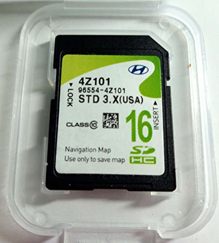 4Z100 2012 2013 2014 Hyundai Santa Fe (SANTAFE) Navigation MAP SD Card ,GPS , U.S.A OEM 96554-4Z100 Review