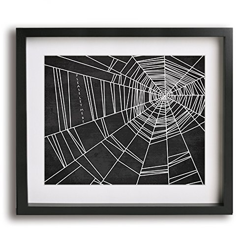 Spiderwebs | No Doubt inspired song lyric art print and modern Halloween (Modern Halloween Pop Songs)