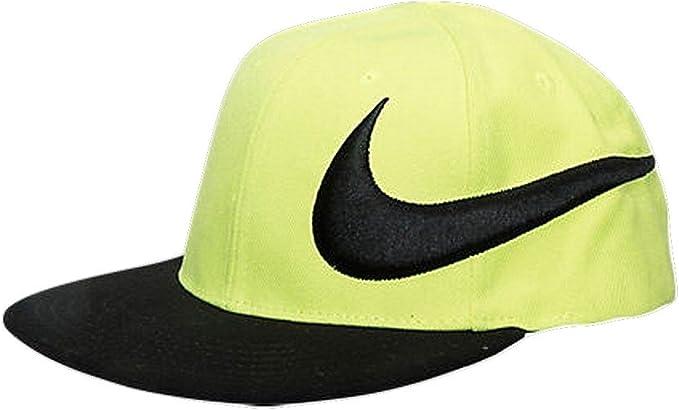 Nike Gorra Boys, Negro y Anaranjado: Amazon.es: Ropa y accesorios