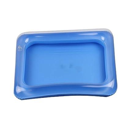 Skyoo Bandeja de Arena Grande Inflable para niños, Azul, 60 ...