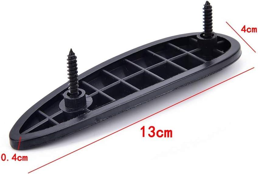SHIYM-Pads 1 Ajuste Durable de pl/ástico Antideslizante Slip Acanalado Retroceso del coj/ín con Culata Tornillo Arma Stock Suave del Amortiguador de Empuje Accesorios de Caza coj/ín Color : Negro