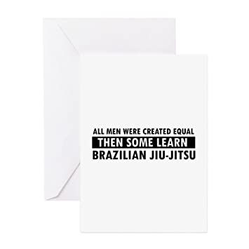 Cafepress Brazilian Jiu Jitsu Design Greeting Card Greeting Card