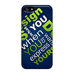 BCO9261PDZd Tpu Case Skin Protector For Iphone 5/5s Design Yourself With Nice Appearance