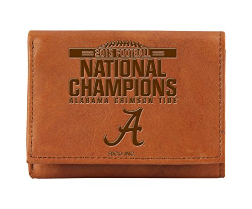 NCAA Alabama Crimson Tide 2015 CFP Champ Embossed Tri-fol...