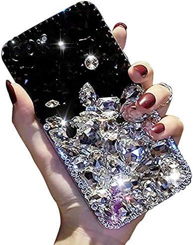 Diamonds Transparent Rhinestone Protective Girl White product image