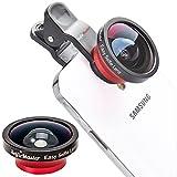 SelfieMaster SM-501 Easy Selfie Lens (Super Wide Angle)   iPhone, Samsung Galaxy, HTC, Blackberry, iPhone 6, 6 plus   140 degrees, 0.4X, close up, macro, Camera Lens