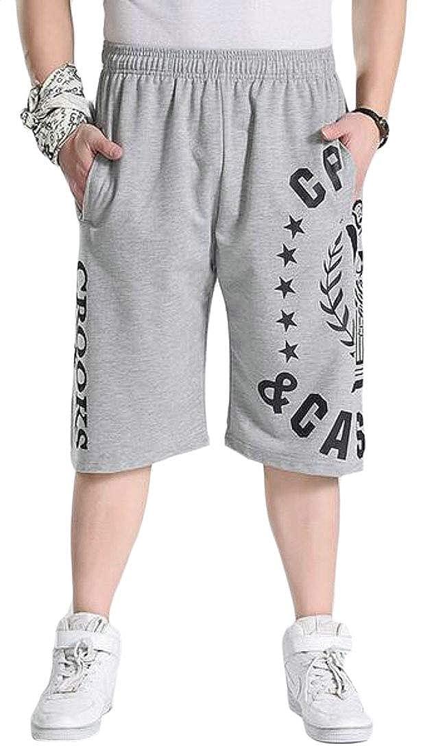 KLJR Men Casual Sport Loose Fit Running Trainning Summer Big /& Tall Plus Size Shorts