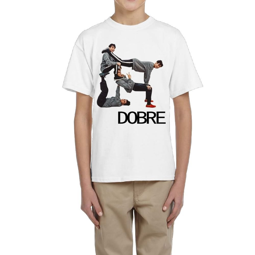 Junior Dobre Brothers Summer Comfortable Cotton Travel Short Sleeves T Shirt Gift XL